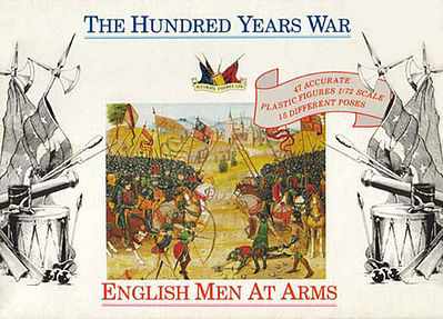 Accurate-Figures English Men At Arms 1400AD Plastic Model Military Figure 1/72 Scale #7206