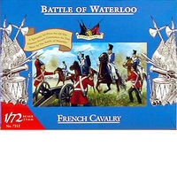 Accurate-Figures French Cavalry Waterloo Plastic Model Military Figure 1/72 Scale #7212