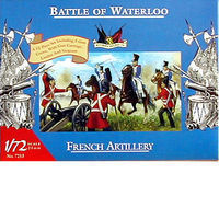 Accurate-Figures French Artillery Waterloo Plastic Model Military Figure 1/72 Scale #7213