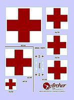 Archer US Ambulance Markings Plastic Model Vehicle Decal 1/35 Scale #35002