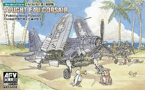 AFVClub 1/144 F4U Corsair Fighter (Folding-Wing) (Update Tooling)