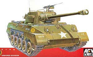 AFVClub M18 Hellcat Tank Destroyer Plastic Model Tank Destroyer Kit 1/35 Scale #35015