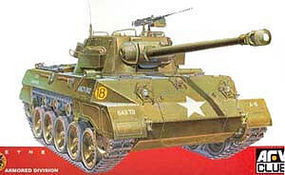 M18 Hellcat Tank Destroyer Plastic Model Tank Destroyer Kit 1/35 Scale #35015