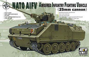 AFVClub NATO Armored Infantry Vehicle w/25mm Turret Plastic Model Military Kit 1/35 #35016