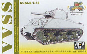 AFVClub M4 Sherman Vertical Volute Spring Suspension Unit Plastic Model Vehicle 1/35 Scale #35029