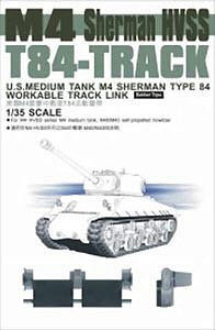 Afv Club 35028-1//35 T49 Track For Sherman M4 Vvss Extended Neu
