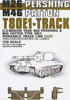 AFVClub T80E1 Track Links Steel Type Plastic Model Tank Tracks 1/35 Scale #35036