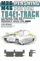 AFVClub T84E1 Track Links Rubber Type Plastic Model Tank Tracks 1/35 Scale #35037