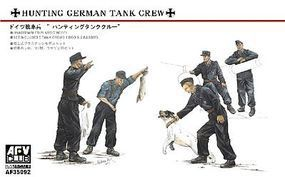 AFVClub Hunting Panzer Crew Plastic Model Military Figure 1/35 Scale #35092