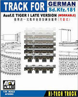 AFVClub German SdKfz 181 Ausf E Tiger I Late Workable Track Plastic Model Tank Tracks 1/35 #35093