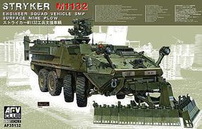 AFVClub Stryker M1132 Engineer Squad Vehicle w/SMP Plastic ModelArmoured Car Kit 1/35 #35132