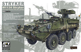 AFVClub Stryker M1134 ATGM Plastic Model Armoured Car Kit 1/35 Scale #35134
