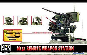 AFVClub M151 Remote Weapon Station Plastic Model Artillery Kit 1/35 Scale #35157