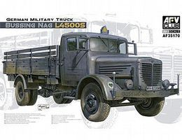 AFVClub German Bussing Nag L4500S Truck Plastic Model Military Truck Kit 1/35 Scale #35170