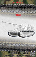 AFVClub PzKpfw III Late/IV Mid 40cm Workable Track Links Plastic Model Tank Tracks 1/35 #35179