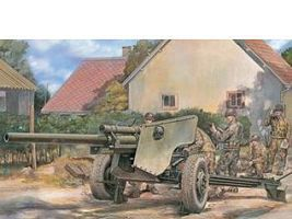 AFVClub US 3 Inch Anti-Tank M5 Gun on M6 Carriage Plastic Model Tank Kit 1/35 Scale #35181