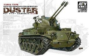AFVClub M42A1 Duster Early Tank Plastic Model Tank Kit 1/35 Scale #35192