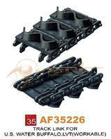 AFVClub US LVT4 Water Buffalo Workable Track Links Plastic Model Tank Tracks 1/35 #35226