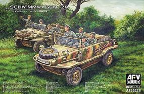 AFVClub Schwimmwagen 128 Vehicle Plastic Model Military Vehicle 1/35 Scale #35228