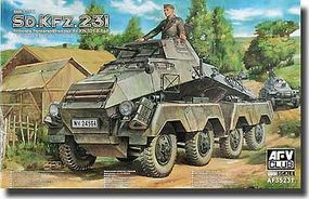 AFVClub SdKfz 231 8-Rad Early Type Schwerer PzSpahWg Plastic Model Military Vehicle 1/35 #35231