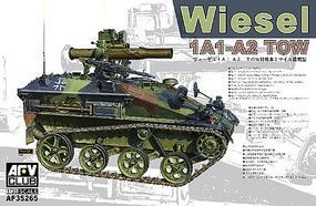 AFVClub Wiesel 1A1/A2 Tow Armored Weapons Carrier Plastic Model Military Vehicle 1/35 Scale #35265