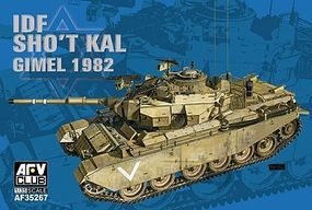 AFVClub IDF Shot Kal Gimel 1982 Tank Plastic Model Military Vehicle Kit 1/35 Scale #35267