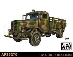 AFVClub German Bussing Nag L4500A Truck Plastic Model Military Vehicle Kit 1/35 Scale #35270