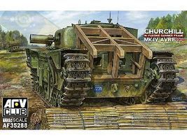AFVClub Churchill Mk IV Avre Tank Plastic Model Military Vehicle Kit 1/35 Scale #3528