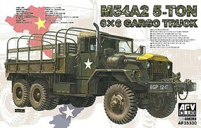 AFVClub 1/35 US M54A2 5-Ton 6x6 Cargo Truck (New Tool)