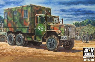 AFV Club 1/35 M109A3 2.5-Ton 6x6 Shop Van (New Tool)