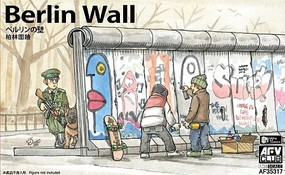 AFVClub 1/35 Berlin Wall Section (3 Units) (New Tool)