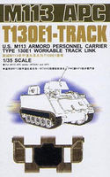 US M113 APC T130E1 Workable Track Links Plastic Model Tank Tracks 1/35 Scale #35s22