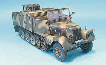 AFVClub German SdKfz 11/4 3-Ton Semi-Track Nebelkraftwagen Plastic Model Halftrack Kit 1/35 #35s36