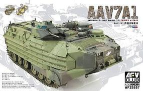 AFVClub ROC Marine AAVP7A1 Amphibious Assault Vehicle Plastic Model Personnel Carrier 1/35 #35s67