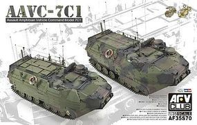 AFVClub AAVC7C1 Assault Amphibian Vehicle Command Plastic Model Personnel Carrier 1/35 Scale #35s70