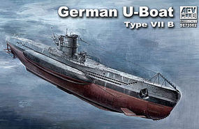AFVClub German U-Boat Type VII B Submarine Plastic Model Submarine Kit 1/350 Scale #73502