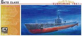 AFVClub USS Gato Class Submarine 1941 Plastic Model Submarine Kit 1/350 Scale #73509
