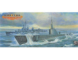 AFVClub USS Gato Class Submarine 1942 Plastic Model Submarine Kit 1/350 Scale #73510