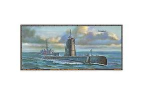 AFVClub USN Guppy II Class Submarine Plastic Model Submarine Kit 1/350 Scale #73513