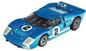 AFX Ford GT40 #2 LeMans Mega-G Collector Series HO Scale Slotcar Car #21006