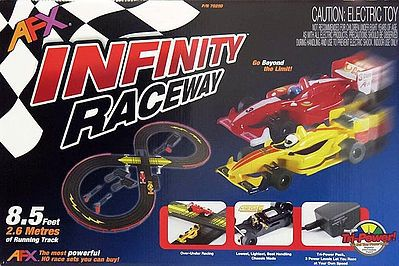 AFX Infinity (MG+) HO Scale Slot Car Set #21016