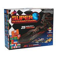 AFX Super International (MG+) HO Scale Slot Car Set #21018