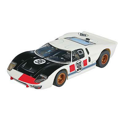 AFX Ford GT40 #98 Daytona MG+ Clear -- HO Scale Slotcar Car -- #21033