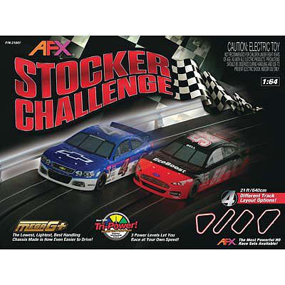 AFX Stocker Battle 20' Exclusive -- HO Scale Slot Car Set -- #21041