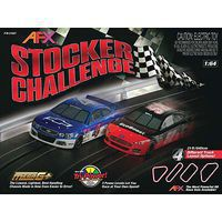 AFX Stocker Battle 20 Exclusive HO Scale Slot Car Set #21041