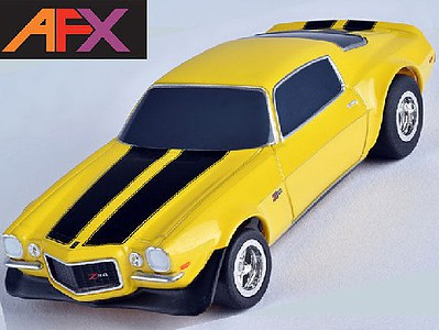AFX Camaro Z28 70 - Yellow (MG+)