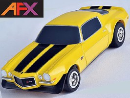AFX CAMARO Z28 1970 YELLOW MG+
