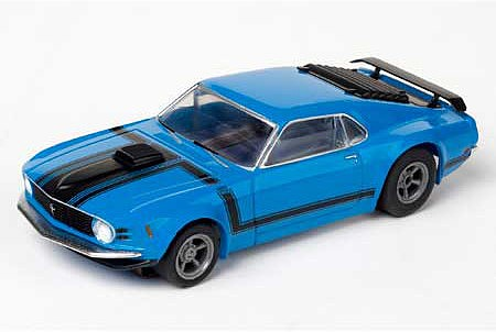 AFX Mustang Clear Boss 302