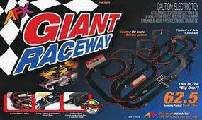 AFX Giant Raceway Set w/Tri-Power Pack 62.5 HO Scale Slot Car Set #70289