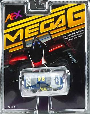 AFX Stocker #84 Mega-G -- HO Scale Slot Car -- #70305